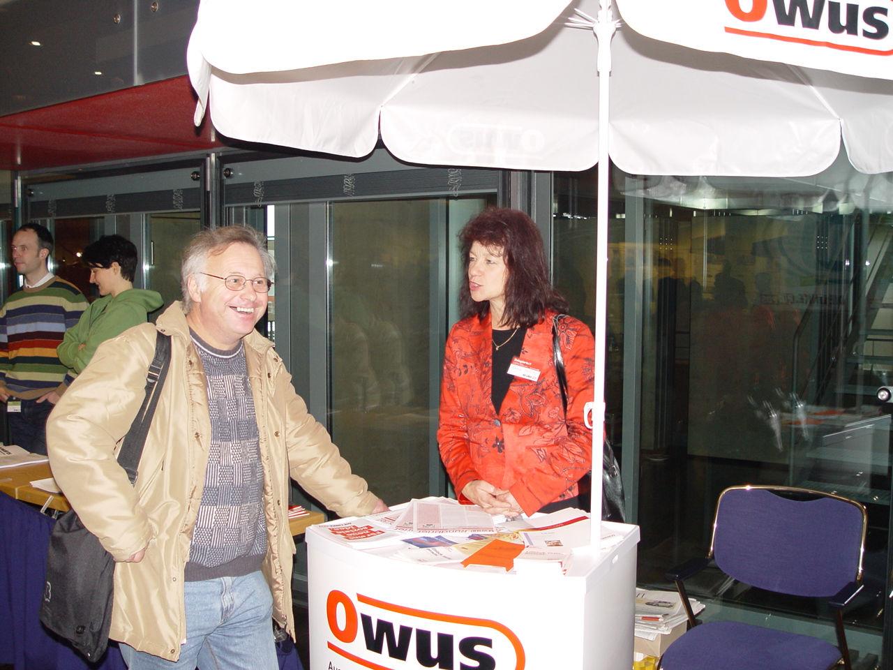 OWUS Informationsstand 2005