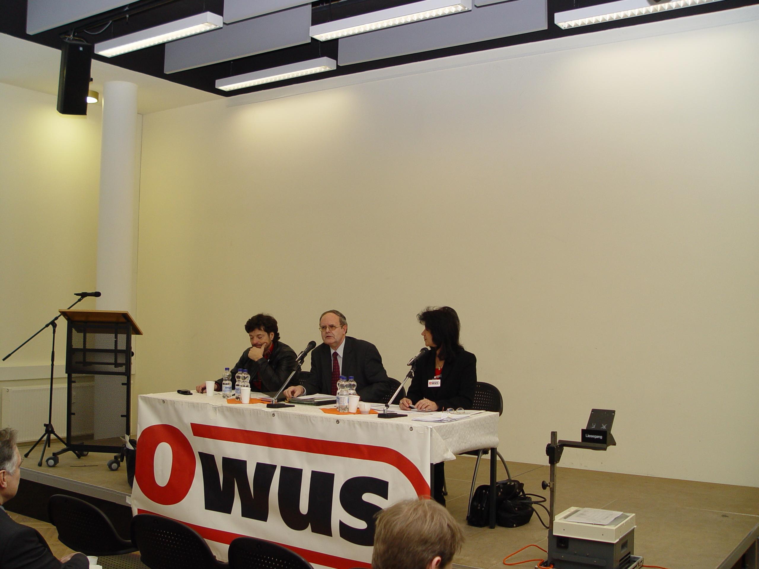 OWUS Mitgliederversammlung 2009