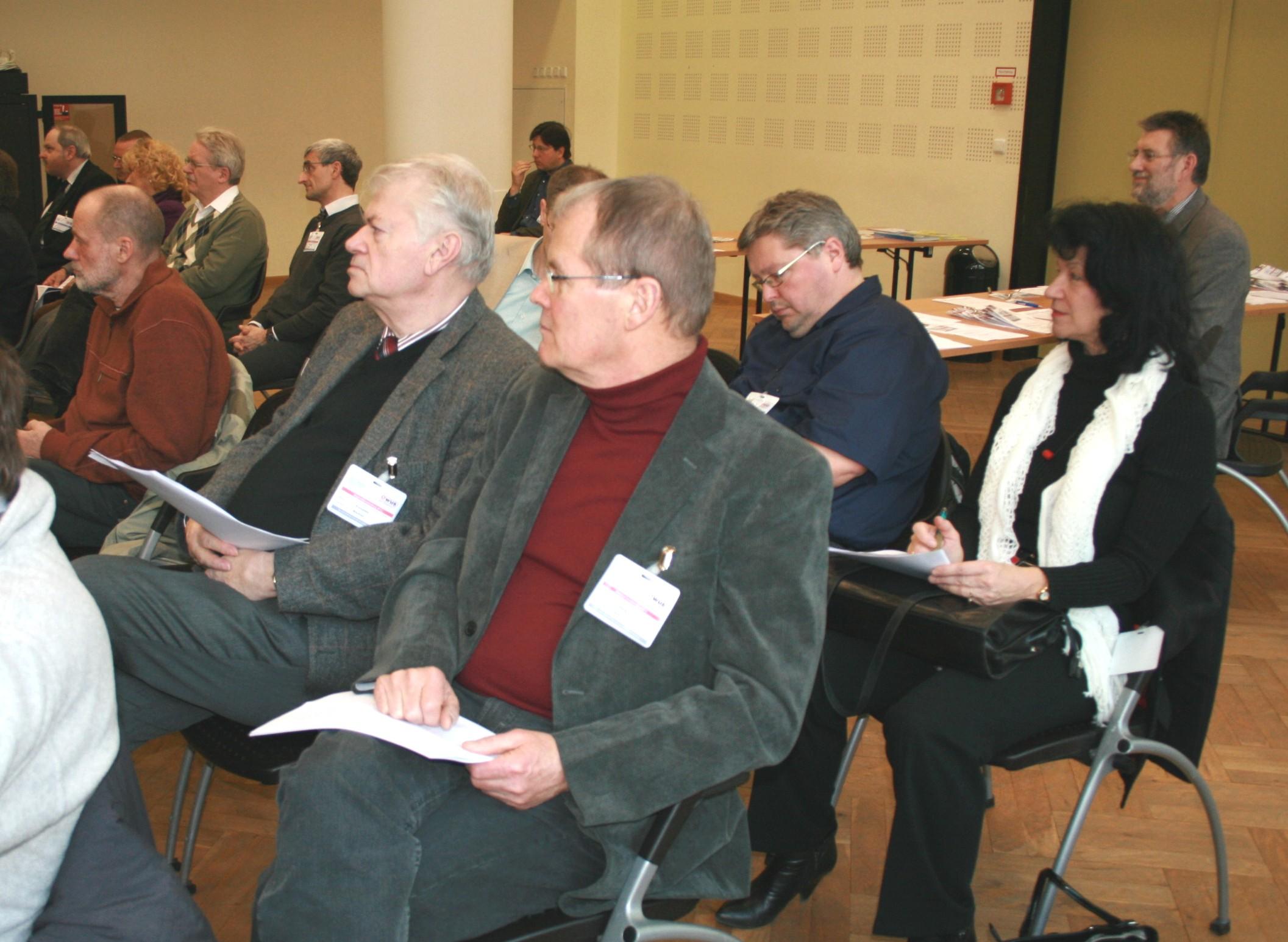 Bild von der Mitgliederversammlung 2011