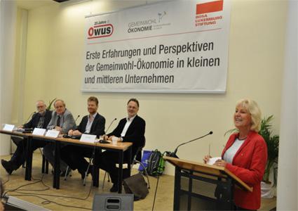 OWUS Konferenz zur Gemeinwohlökonomie am 11. Oktober 2014 Bild 1