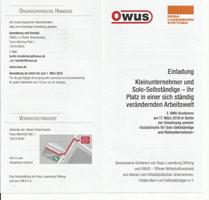 Einladung zur 3. KMU Konferenz