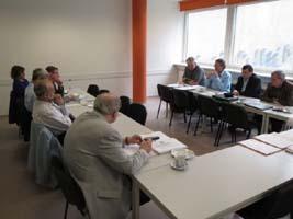 OWUS Vorstand des Dachverbandes 4. April 2014 2